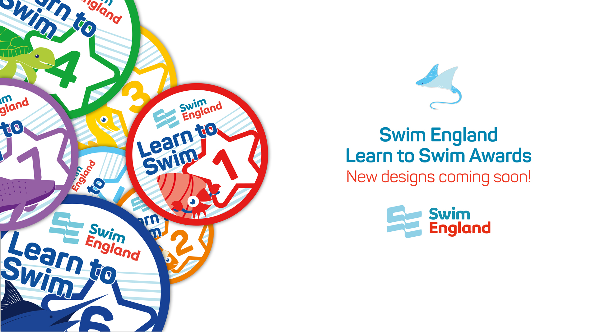 Swim England new badges