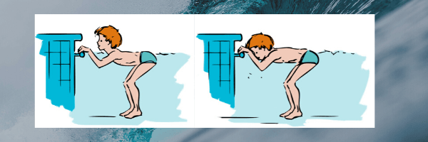 How to get confident with water