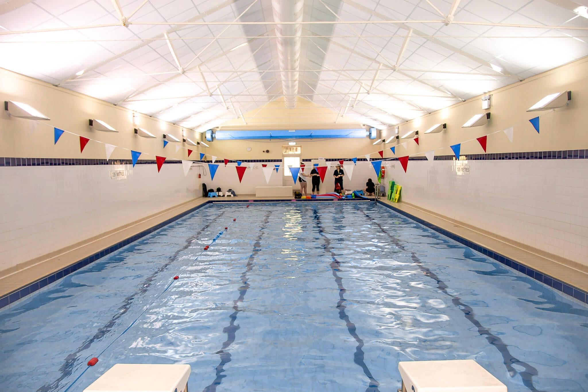 Prior Park College pool