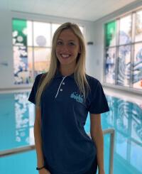Olivia Fry, swimming teacher