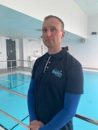 Ben Nash, swimming teacher